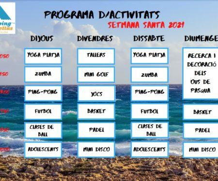 actividades semana santa 2021 barcelona